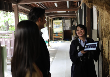 "Sake brewery visits to world-renowned ""Hourai"""