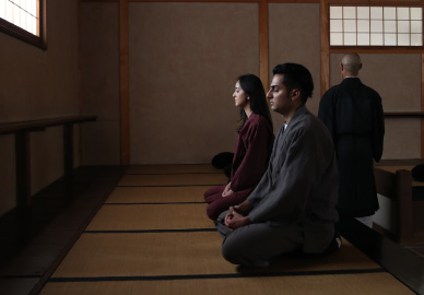 Walking tour and Zen meditation experience in Higashiyama