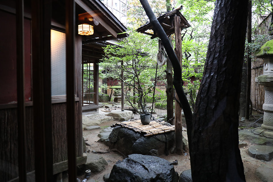 "Private dinner where you can get a taste tangible cultural property ""Susaki"""